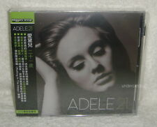Adele 21 Taiwan 2-CD w/OBI (Rolling In The Deep)