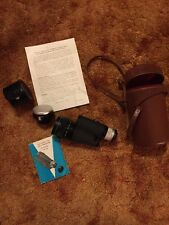 Accura Photo Monocular 7x50 & Auto Extender +Cases & Owners Manuals, great shape