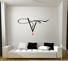 The Vampire Diaries Wall Art Decal Mural Sticker-TV-Gift-CW-Sci-Fi-Fantasy