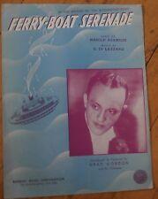 Ferry-Boat Serenade - Gray Gordon - Sheet Music 1939 #2