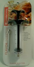 Marinade Turkey Injector Flavor Syringe  Poultry Chicken Meat BBQ Cooking Needle