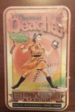 1992 Dean Munson Rockford Peaches Tin, Sealed