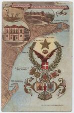 cartolina militare DIREZIONE GENIO MILITARE DI MESSINA
