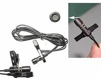 PRO TIE CLIPS LAPEL LAVALIER MICROPHONE FOR WIRELESS MIC BODYPACK SYSTEM