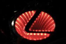 Newest LED logo Light badge for LEXUS RED color USA SHIP