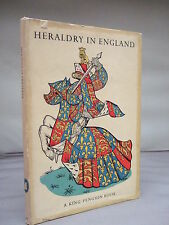 Heraldry in England by Anthony Wagner HB DJ 1946 - King Penguin - Illustrated