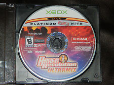 Dance Dance Revolution Ultramix Microsoft Xbox 2003 DDR Game Only Free Shipping