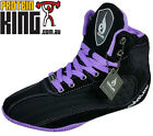 RYDERWEAR LADIES RAPTORS BLACK PURPLE GYM SHOES TRAINING LIFTING RYDER WEAR