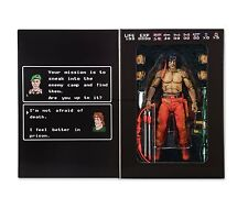 "RAMBO CLASSIC VIDEO GAME APPEARANCE 1988 8-BIT NES 7"" inch ACTION FIGURE NECA"