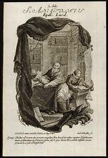 santino incisione 1700 S.ANATOLIO V. DI LAODICEA. winckler