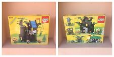Lego 6054 Forestmen 's Hideout Vintage 1988 COMPLETO CIB