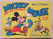 1970's MICKEY MOUSE & FRIENDS Americana Sticker Album