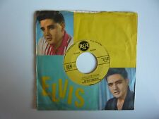 "Elvis Presley Good Luck Charm Original 1962 French RCA 7"" Vinyl Single"