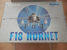FRANKLIN MINT ARMOUR F-18 HORNET 1:48 U.S MARINES