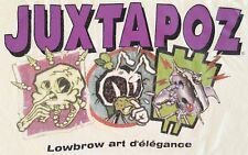 Juxtapoz Art Magazine T-shirt Robert Williams Rare Vintage Low Brow Art Adult XL