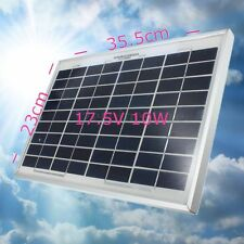 12V 10W PolyCrystalline Cells Solar Panel Poly Solar Module Battery Charger