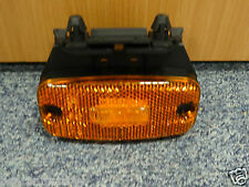 Hella 24v Amber LED Side Marker Lamp Reflector Truck Bus Motor Home Scania DAF