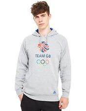 adidas Team GB Olympic Hoodie 3 Stripes Large