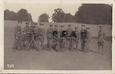 WW1 Soldier Group Essex Regiment Territorials TF Maxim Gun section
