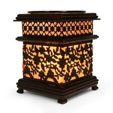 Asian Floral Design Electric Scented Oil Burner/Warmer Night Light Lamp OA254