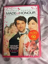 Made Of Honour DVD Patrick Dempsey Michelle Monaghan ## SEALED ##