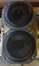 "NEW PAIR Old School Alphasonik 6.5"" Coaxial speakers,Rare,Vintage,NOS,GERMANY"