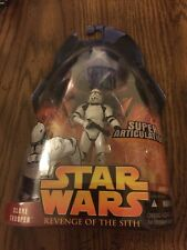 "STAR WARS Revenge of the Sith 3.75"" CLONE TROOPER figure NEW NIP Hasbro 2005"