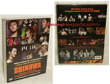 Shinhwa 2006 Japan Tour Inspiration#1 Live At Budokan Taiwan 2-DVD+CD