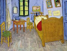 "Vincent Van Gogh ""Van Gogh's Bedroom Arles, 1889"" digital open edition print"
