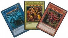 YUGIOH cards ULTRA RARE GOD CARDS SET LC01-EN001 EN002 EN003 MINT!