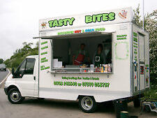 Chassis Cab mobile Catering Trailer Burger Van For Sale