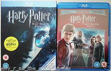 HARRY POTTER And THE HALF-BLOOD PRINCE Triple Play 3 Disc Blu-Ray & DVD Set