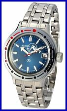 AMPHIBIA 200m VOSTOK AUTOMATIC MECHANICAL WATCH NEW! 4 Es