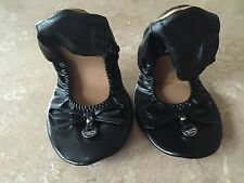 Foldable Ballet Pumps Real Leather..Size 4-5..37-38. New