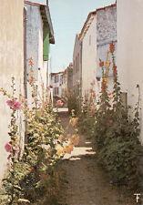 ILE DE RE ars en ré les maisons blanches et les passeroses de l'île timbrée 1972