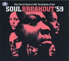 Soul Breakout '59 CD NEW SEALED Isley Brothers/Jackie Wilson/Sam Cooke/Miracles+
