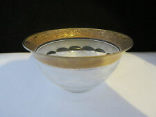 Rare Antique Art Deco Moser Crystal Splendid Cut Small Bowl 4 5/8 Inch Diameter