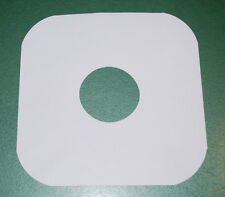 "Inner Sleeves for Album LP 12"" Records White Paper Lot of One Hundred (100) NEW"