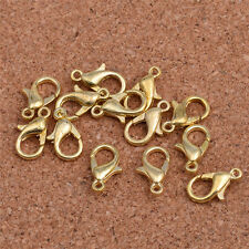 30pcs golden2 DIY Jewelry Findings Lobster Trigger Claw Clasps Connector!