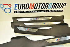 BMW F85 X5M, F15 X5 M paket Entrance Trim Piece Set M Blende Einstieg