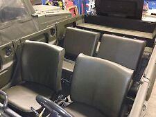 VW 181 portavasi Coprisedili ral6014 = 2 sedili anteriori, 1 sedile posteriore e 2 contrari POSTERIORE