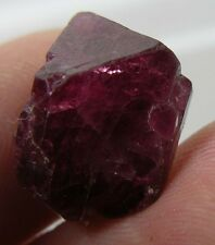13.60ct Vietnam 100% Natural Fluorescent Red Octohedron Spinel Crystal 2.7g 14mm