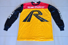 Medium - Team Raleigh BMX Race Jersey Shirt. New. NOS. 80's Old School. Vintage