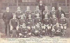 Wales - Welsh team that defeated New Zealand 16/12/1905 vintage rugby postcard