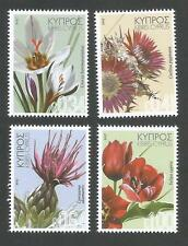 NEW Cyprus Stamps SG 2017 Wild Flowers - MINT Perfect