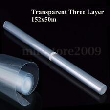 "60""x20"" Clear Car Body Paint Protection Film Vinyl Wrap Scratches Shield"