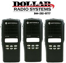 3 New Refurbished Front Housing for Motorola HT1250 16CH Two Way Radios