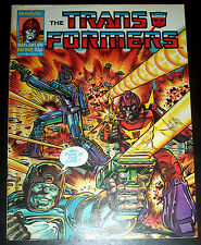 TRANSFORMERS #148 (VF/NM) Autobots! Decepticons! Classic Issue 1988 Marvel UK
