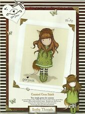 BOTHY THREADS SANTORO GORJUSS THE FOX COUNTED CROSS STITCH KIT NEW 03/2014