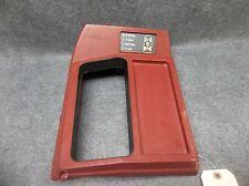 1983-1994 S10 Blazer S15 Jimmy 4x4 Transfer Case Floor Shifter Bezel Red 18417